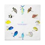 Pacific and Indian Ocean Reef Fish Clock 2 Queen D