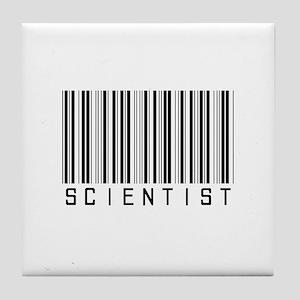 Barcode Science Geek Tile Coaster