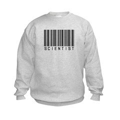 Barcode Science Geek Sweatshirt