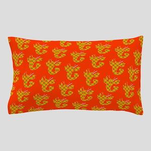 Orange Spotted Lobster #2 Designer Pillow Case