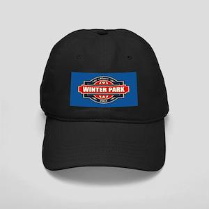 Winter Park Old Label Black Cap