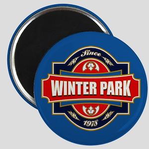 Winter Park Old Label Magnet