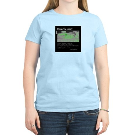 Women's Pink T-Shirt with CdL quote