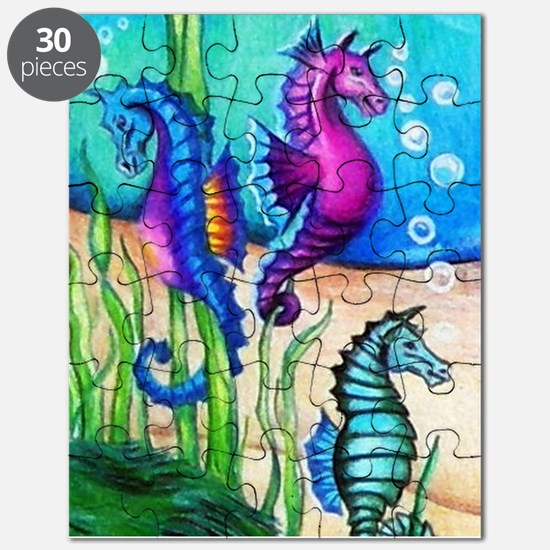 Three Water Horses Puzzle