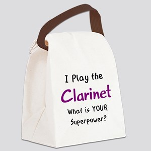 play clarinet Canvas Lunch Bag