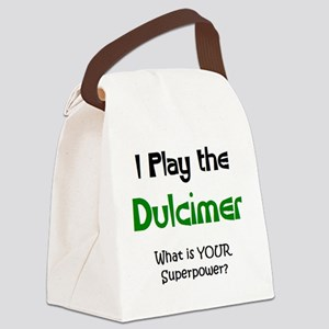 play dulcimer Canvas Lunch Bag
