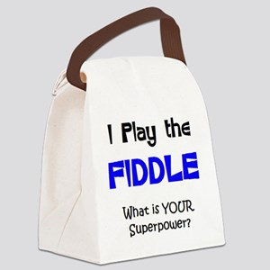 play fiddle Canvas Lunch Bag