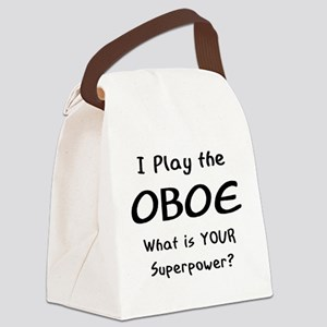 play oboe Canvas Lunch Bag