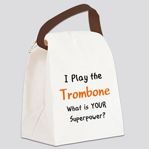 play trombone Canvas Lunch Bag