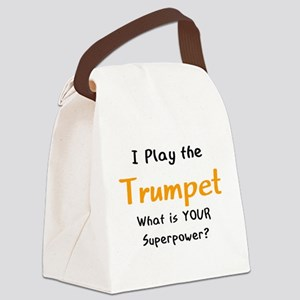 play trumpet Canvas Lunch Bag