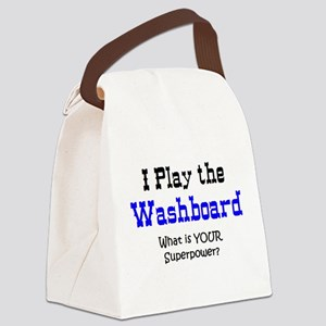 play washboard Canvas Lunch Bag