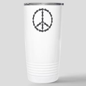 Peace Chain Stainless Steel Travel Mug