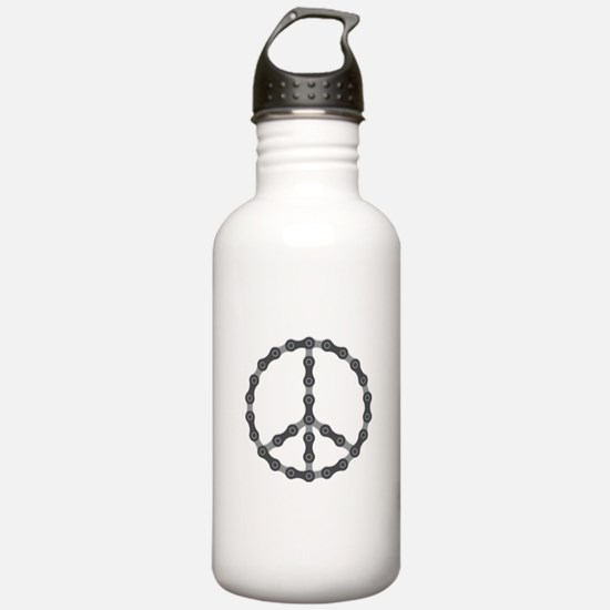 Peace Chain Water Bottle
