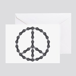 Peace Chain Greeting Card