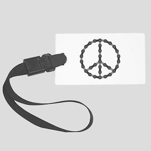 Peace Chain Large Luggage Tag