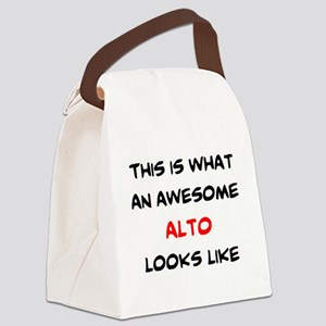awesome alto Canvas Lunch Bag