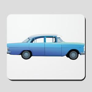 Old School Car Mousepad