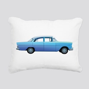 Old School Car Rectangular Canvas Pillow