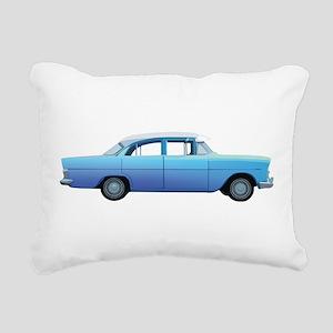 Old School Car Rectangular Canvas Pillow