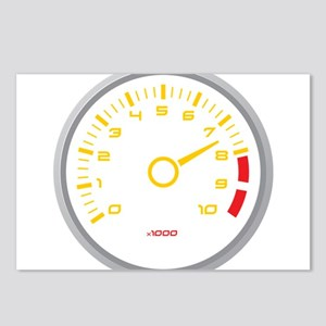 Tachometer Postcards (Package of 8)