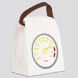 Tachometer Canvas Lunch Bag