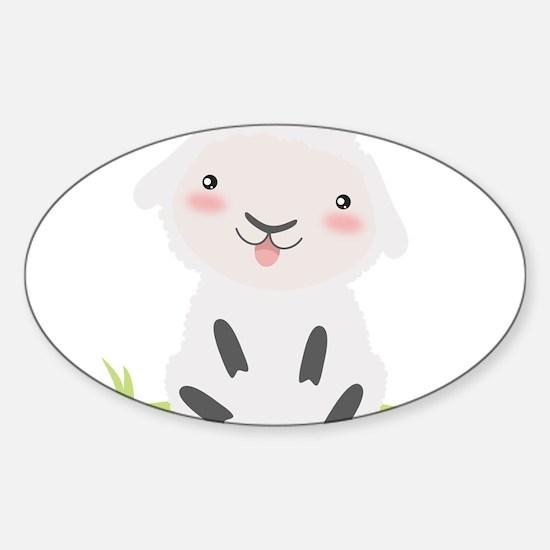 Cute Sheep Decal