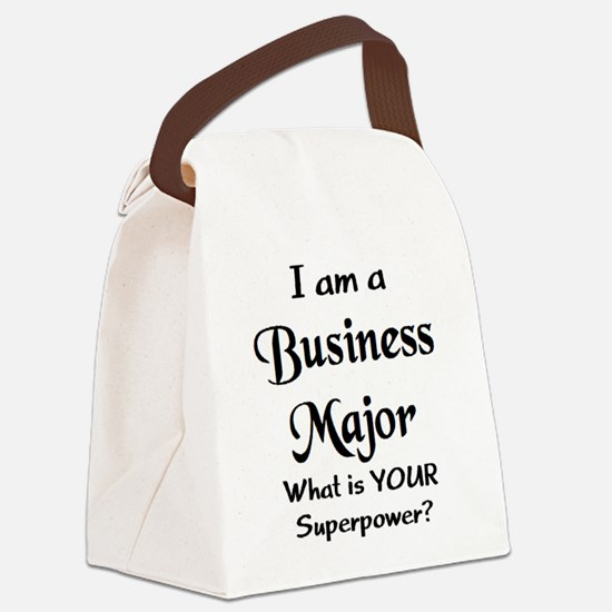 business major Canvas Lunch Bag