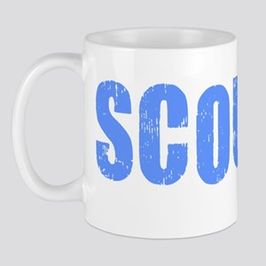 Scouser Blue Grunge Mug