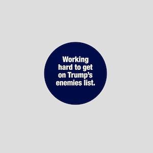 Enemy Of Trump Mini Button