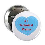 #1 Technical Writer Button