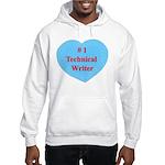 #1 Technical Writer Hooded Sweatshirt