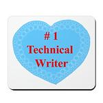#1 Technical Writer Mousepad