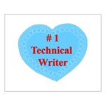 #1 Technical Writer Small Poster
