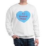 #1 Technical Writer Sweatshirt