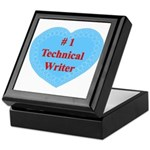 #1 Technical Writer Keepsake Box