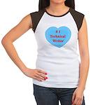 #1 Technical Writer Women's Cap Sleeve T-Shirt