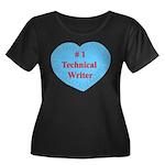 #1 Technical Writer Women's Plus Size Scoop Neck D