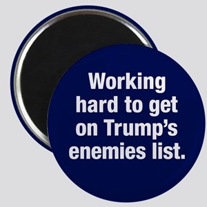 Enemy Of Trump Magnet Magnets
