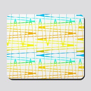 Colourful Splatter Patterns 123 Mousepad