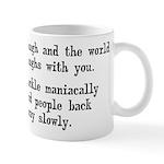 Laugh, Cackle Maniacally Funny Mug