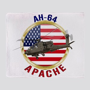 AH-64 Apache Throw Blanket
