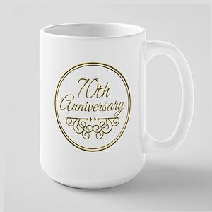 70th Anniversary Mugs