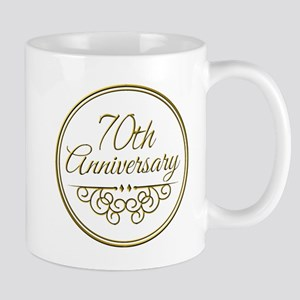 70th Anniversary Mugs
