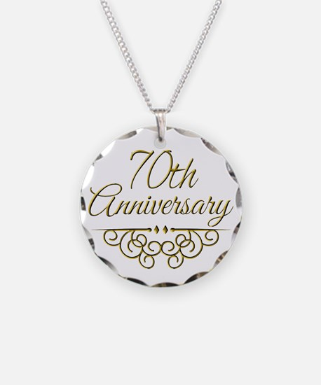 70th Anniversary Necklace