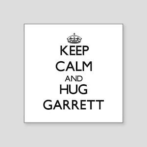Keep calm and Hug Garrett Sticker