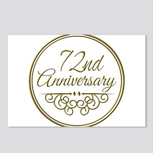 72nd Anniversary Postcards (Package of 8)