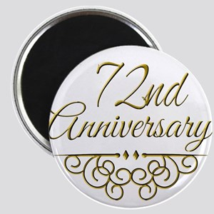 72nd Anniversary Magnets