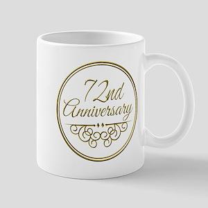72nd Anniversary Mugs
