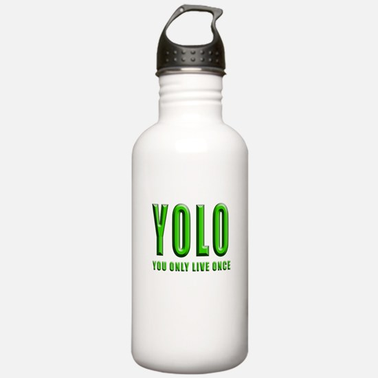 YOLO Water Bottle