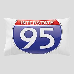 Interstate 95 Pillow Case